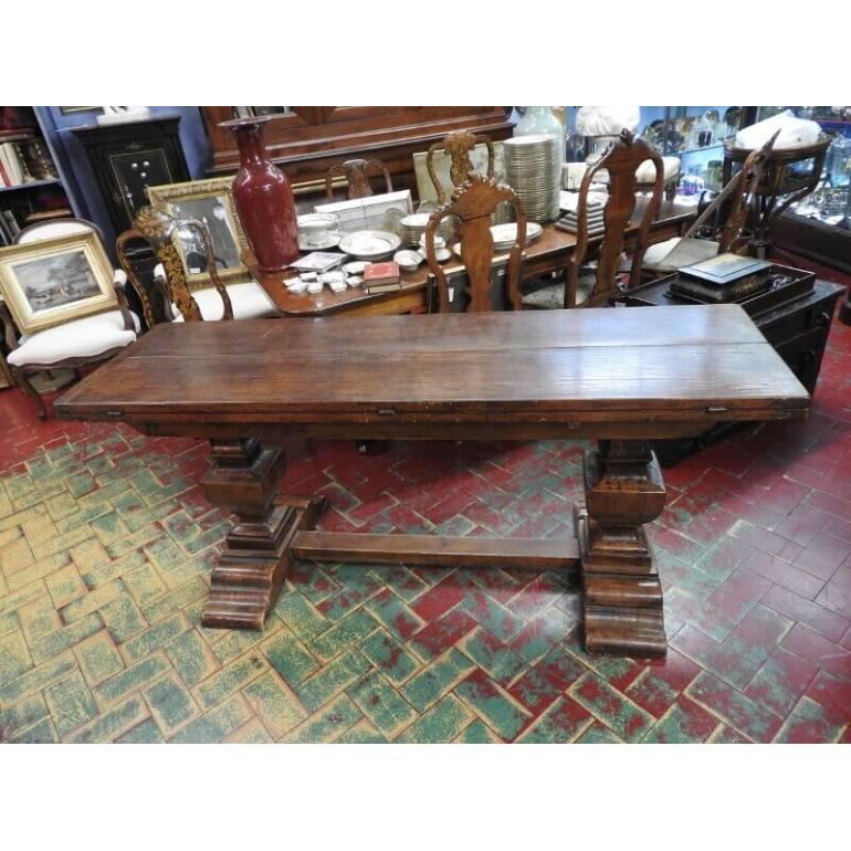 Rustico grande tavolo fratino allungabile | il Balon