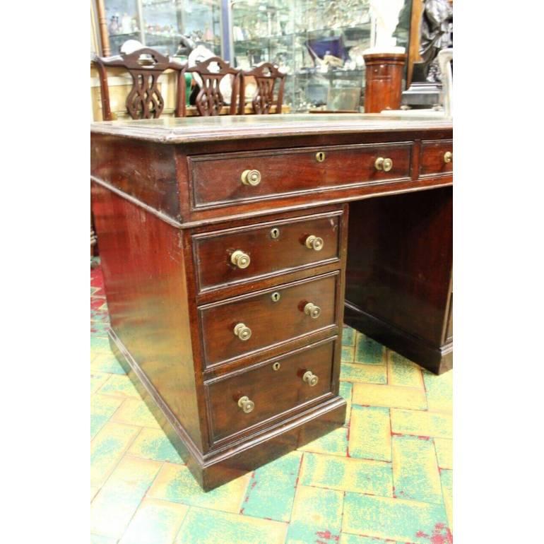 Originale antica scrivania inglese epoca Vittoriana in ...