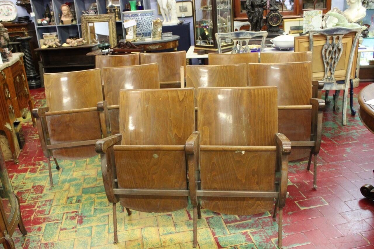 Originali sedie da cinema anni 40 50 | il Balon